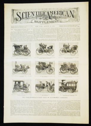Scientific American Supplement -- No. 1023, Aug. 10, 1895 [the Paris-Bordeaux-Paris race