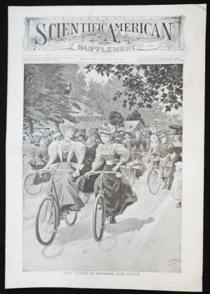 Scientific American Supplement -- No. 1026, Aug. 31, 1895 [lady cyclists in Battersea Park, London