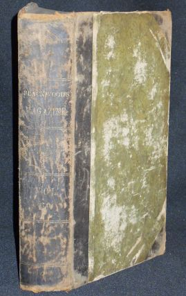 Blackwood's Edinburgh Magazine vol. 60 July-Dec. 1846 -- American Edition vol. 23