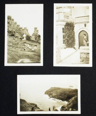 The Cornish Riviera [with 3 small photographs of Tintagel]