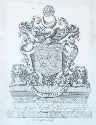 Ductor Historicus: or, A Short System of Universal History, and An Introduction to the Study of it [2 volumes] [provenance: George Baillie (1664-1738), Lord Commissioner of the Treasury]
