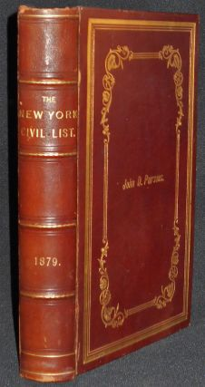 Civil List and Constitutional History of the Colony and State of New York. Stephen C. Hutchins