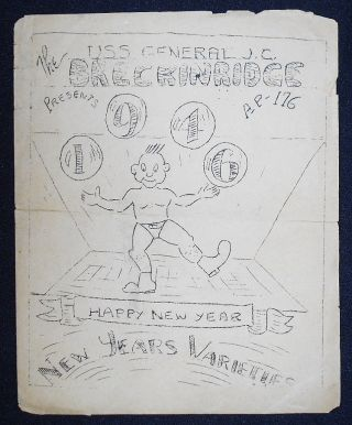 The U.S.S. General J. C. Breckinridge Presents 1946 New Year's Varieties [program]. James E. Emerson