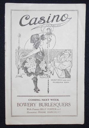 Casino Theatre Burlesque Review [Harry K. Morton and Zella Russell program]. Franz de Merlier